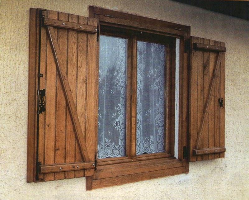 Как сделать ставни на окна деревянные своими руками