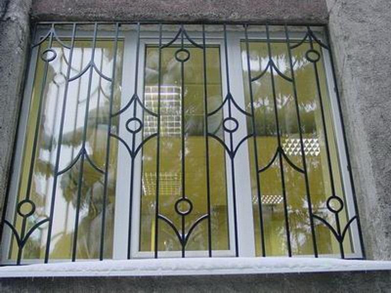 Фото решеток на окна своими руками 738