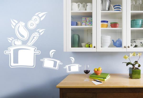Стены на кухне своими руками
