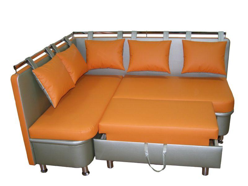 Мягкий кухонный уголок со спальным местом