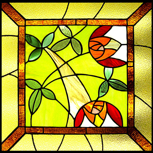 Как сделать витражное стекло