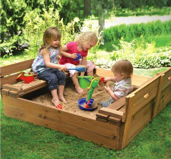 Как можно построить детскую площадку своими руками