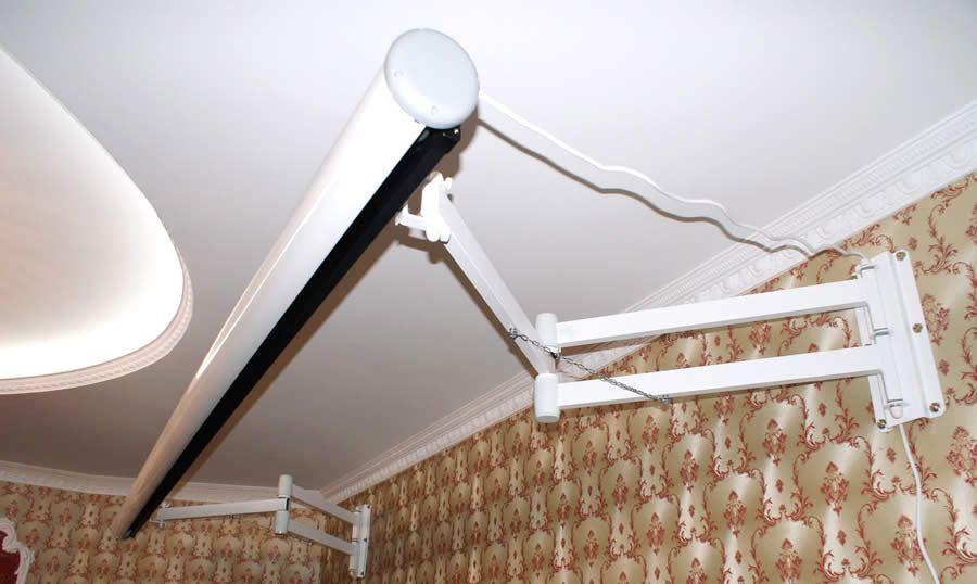 Как сделать крепление для проектора к потолку своими руками