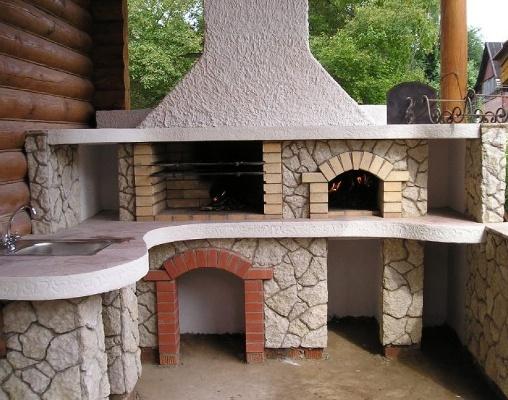 Строить печь барбекю 3д камины электрические
