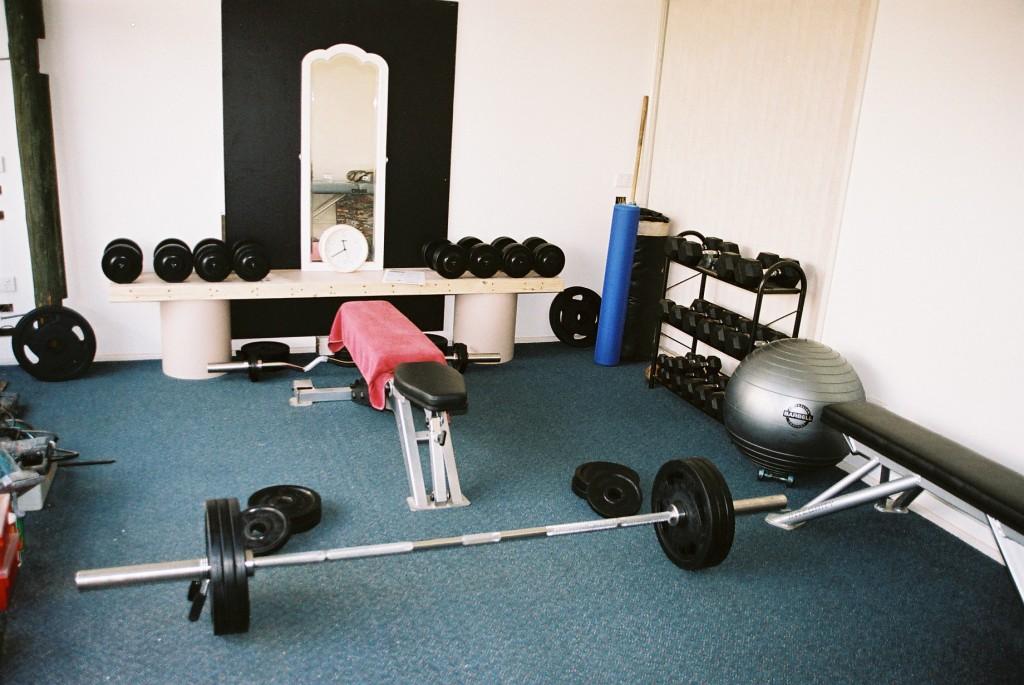 Тренировочный зал своими руками