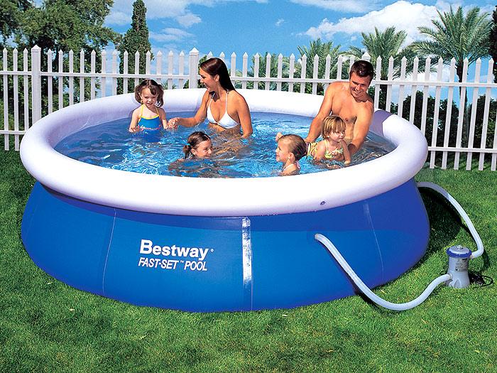 инструкция по установке надувного бассейна Bestway - фото 7