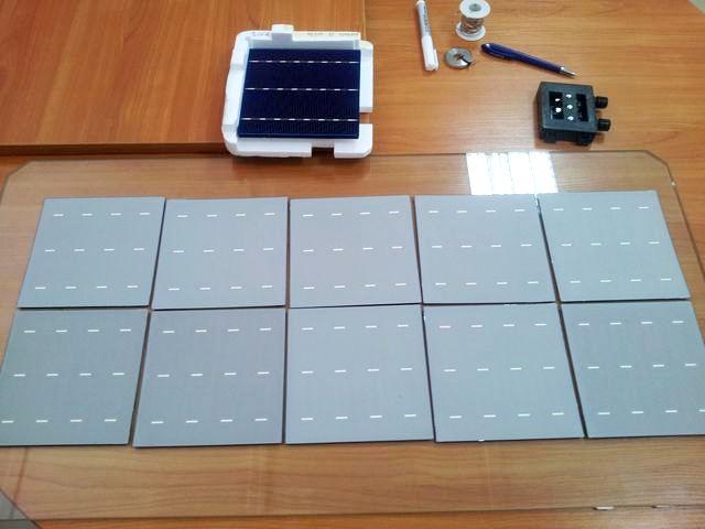 Как своими руками сделать солнечную батарею