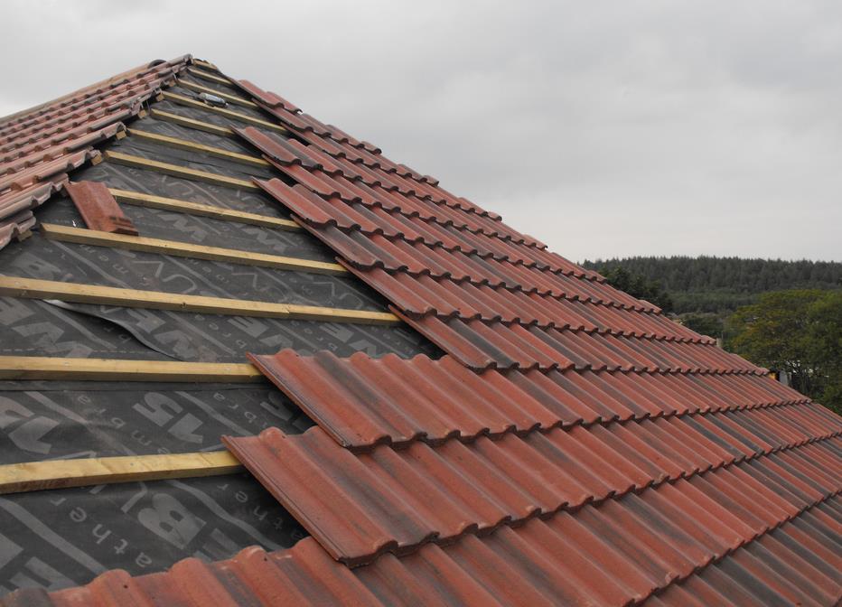 Покрытие крыши фото