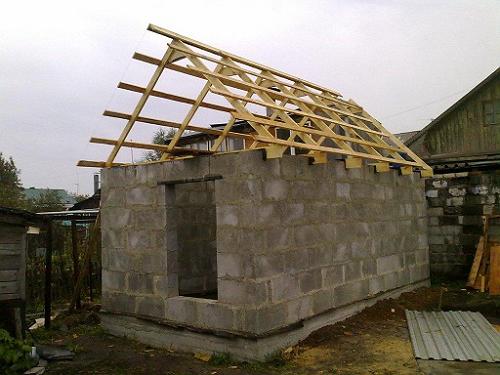 Крыши для дачных домиков своими руками