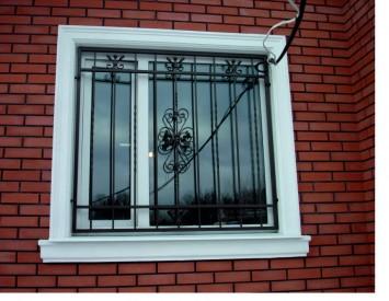 Фото решеток на окна своими руками 243