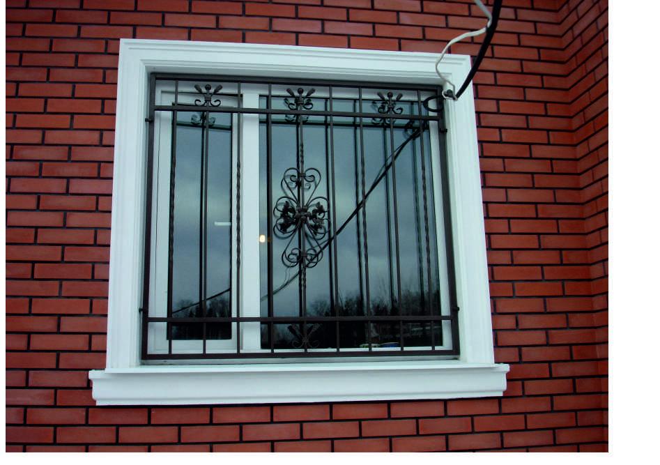 Своими руками решетки на окна фото