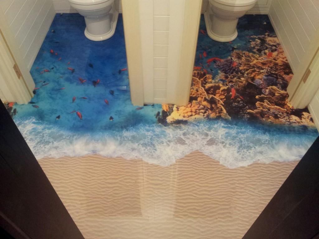 Как сделать полы в ванне