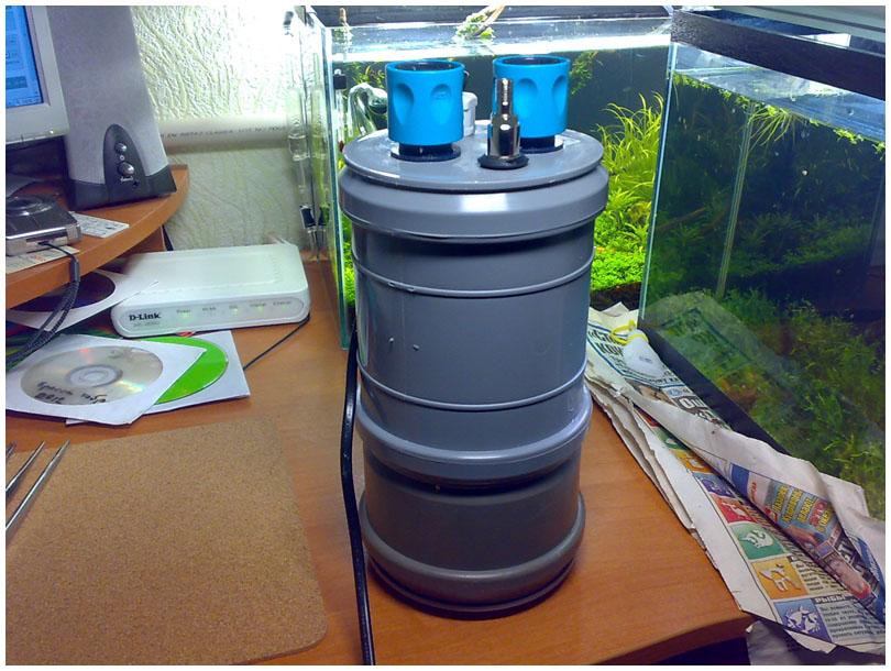 Аквариум наружный фильтр своими руками фото