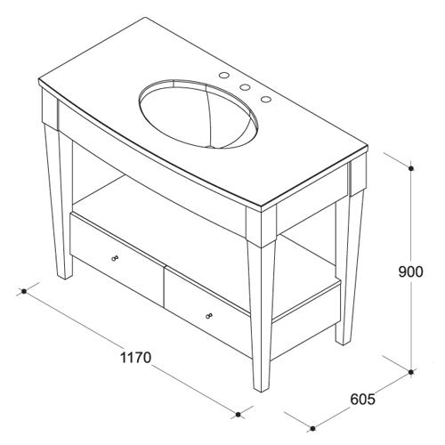 Столешница в ванную размеры столешница для кухни бронницы