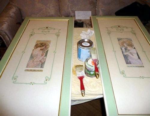 Реставрация шкафов своими руками фото