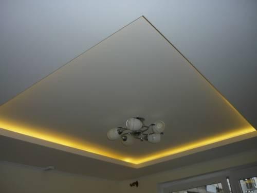 Как самим сделать навесные потолки
