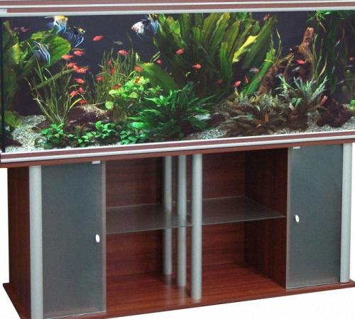 Для аквариума своими руками подставка