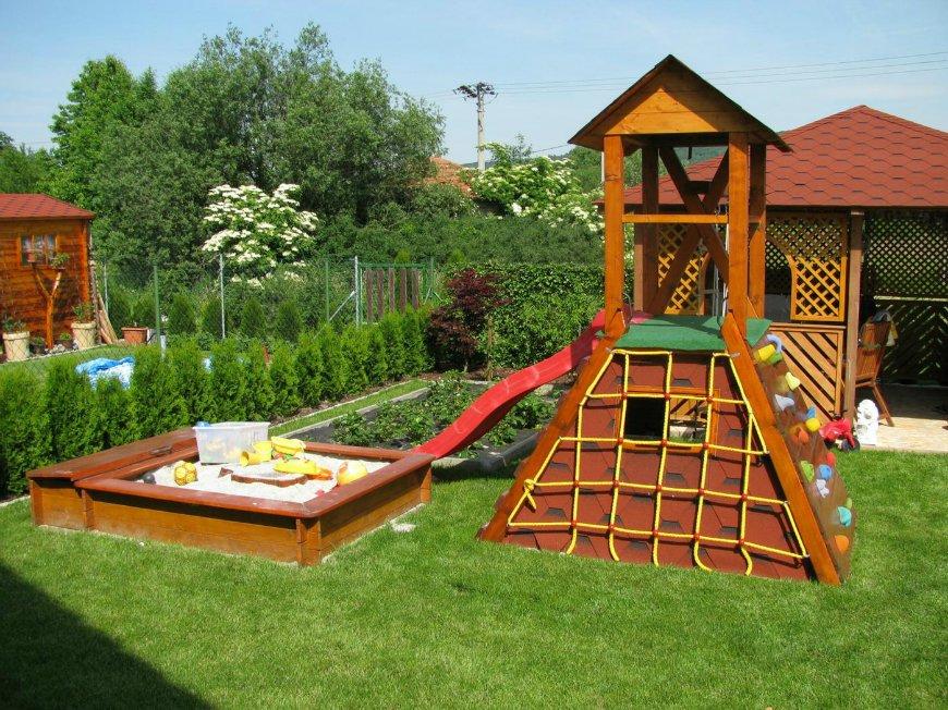 Красивые детские площадки своими руками