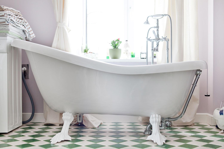 Дизайн чугунной ванны своими руками
