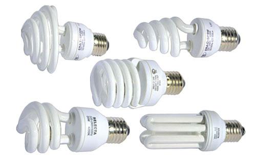 типов люминесцентных ламп: