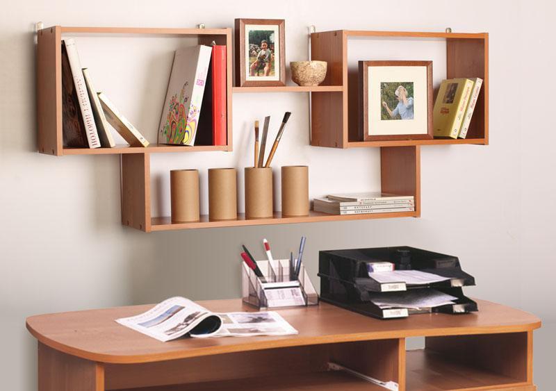 Навесные полки под книги