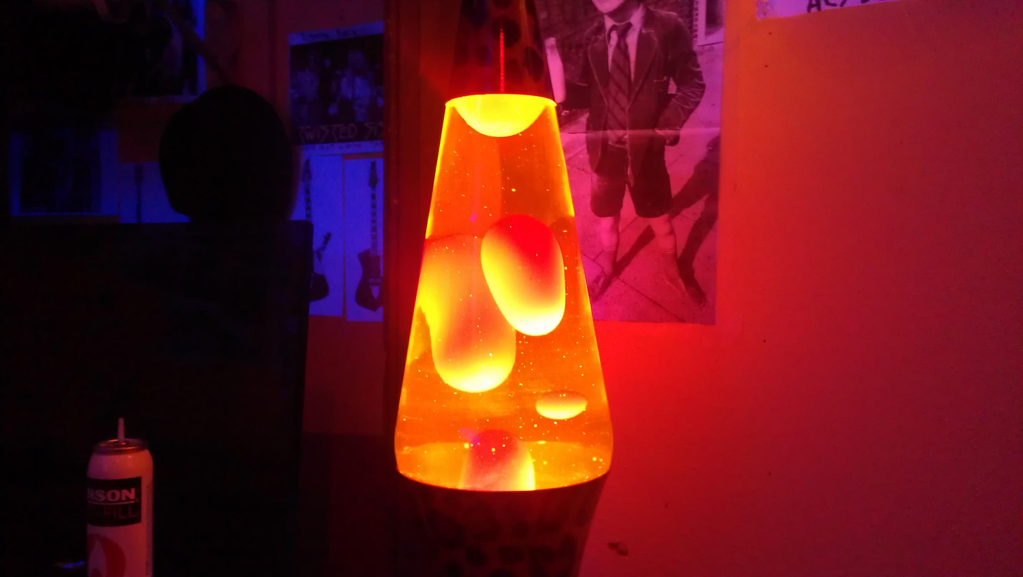 Как сделать лава лампа своими руками