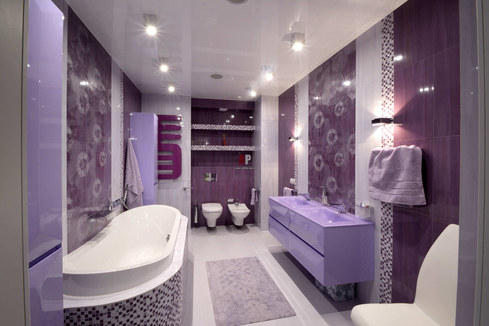 Дизайн ванної кімнат