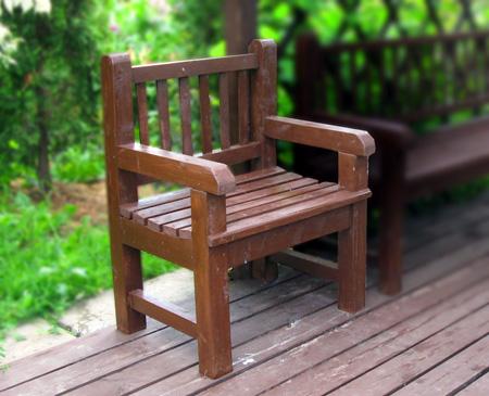 Деревянный стул-кресло своими руками