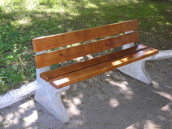 Скамейки бетонные своими руками