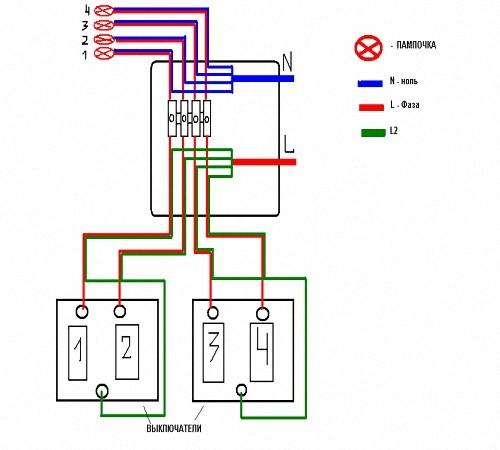Схема подключения телефона к