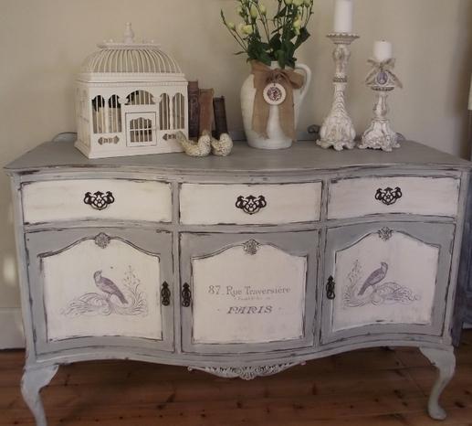 Покрасить мебель в стиле прованс своими руками 105