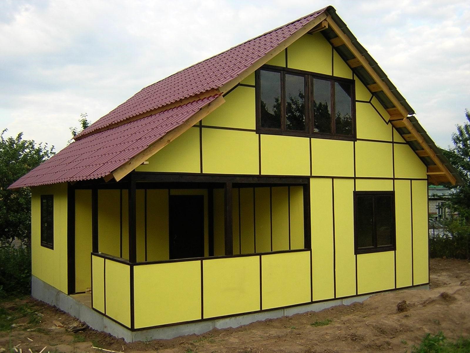 Обшить кирпичный дом профнастилом своими руками фото 571