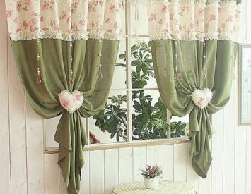 Обновить шторы своими руками