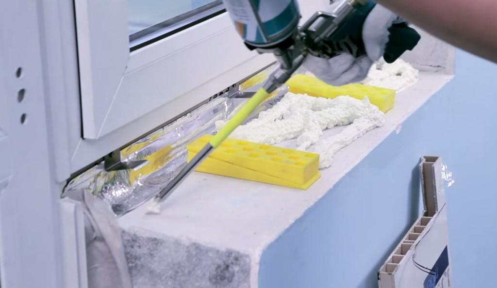 Подоконник на пластиковые окна своими руками фото