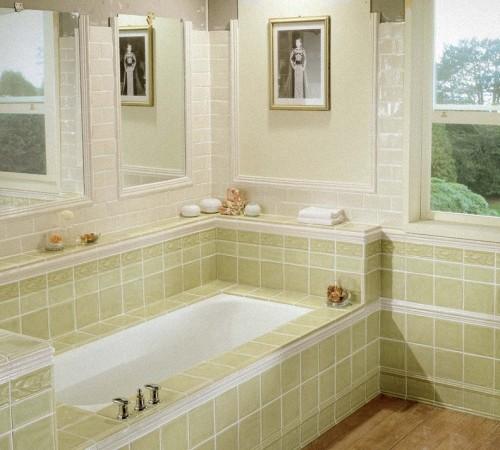 Оформление ванной комнаты: дизайн 2