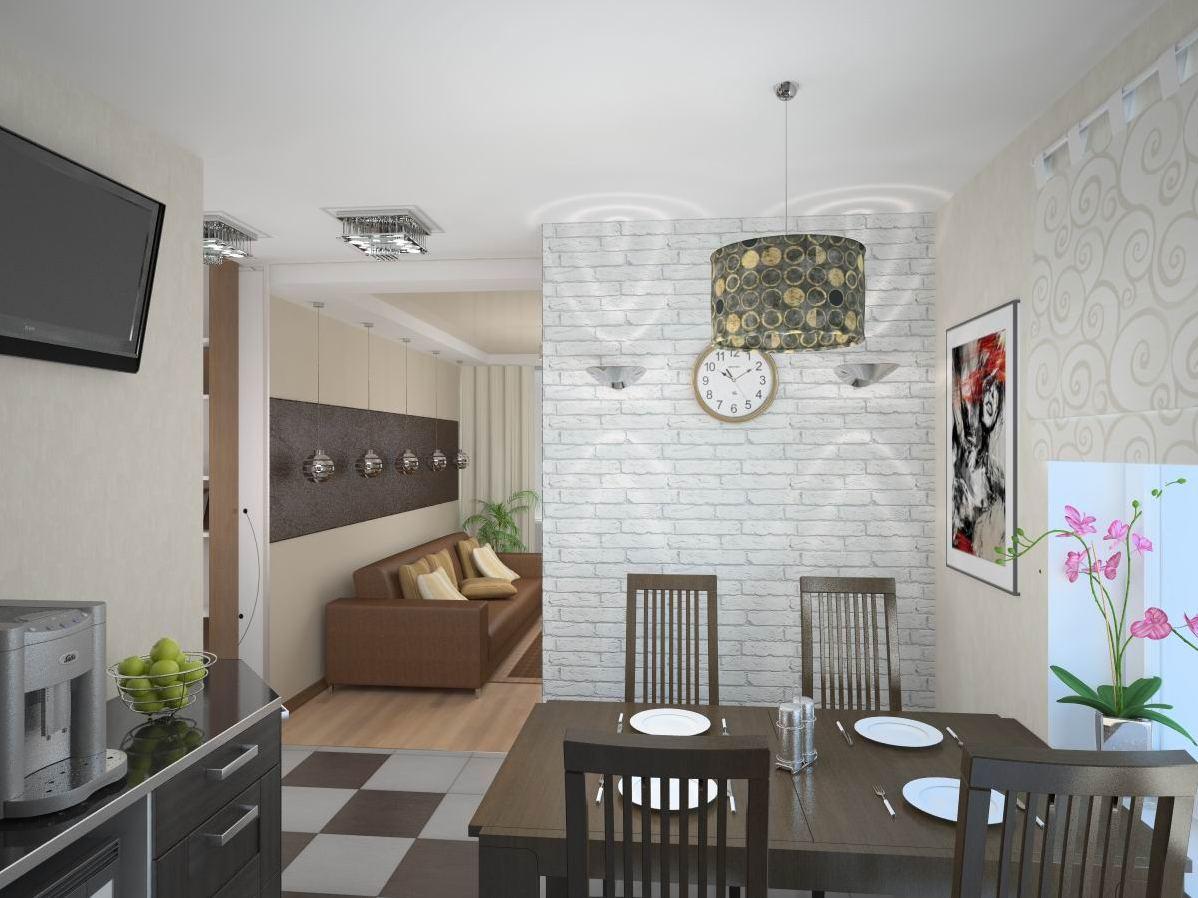 Дизайн кухонный стены