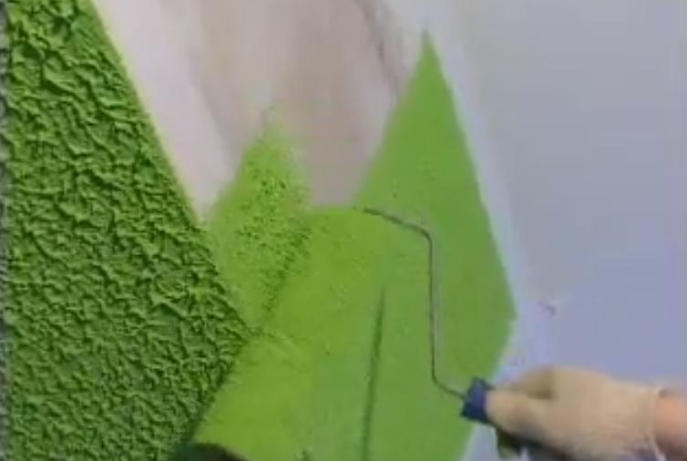 Декоративная штукатурка стен под покраску своими руками 1