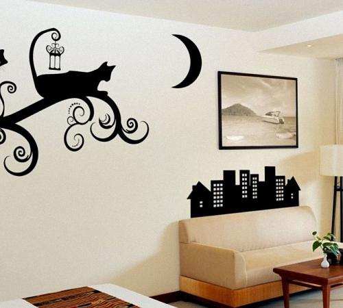 Рисунки на стенах в детской  пошагово 117