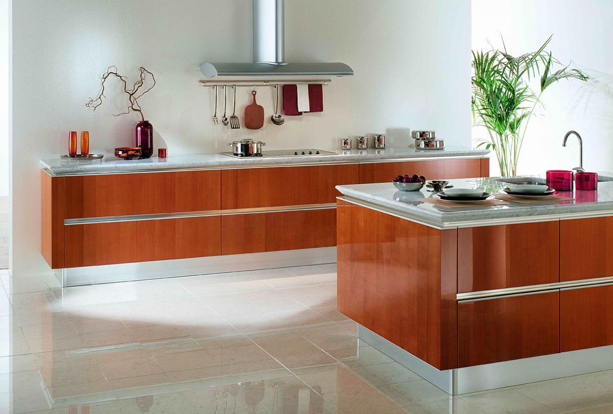 Дизайн кухонь без верхних шкафов