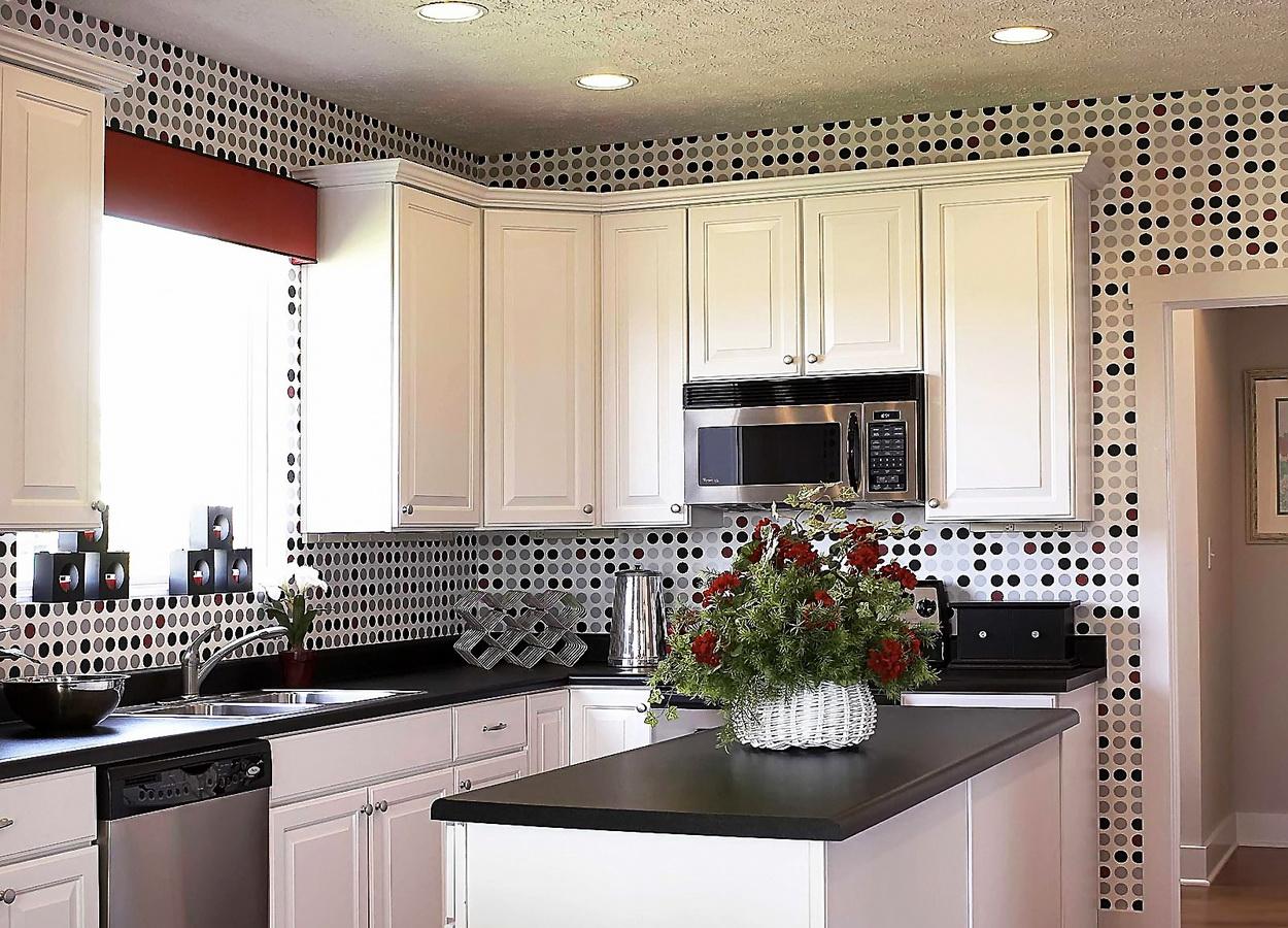 Кухонные обои для стен фото