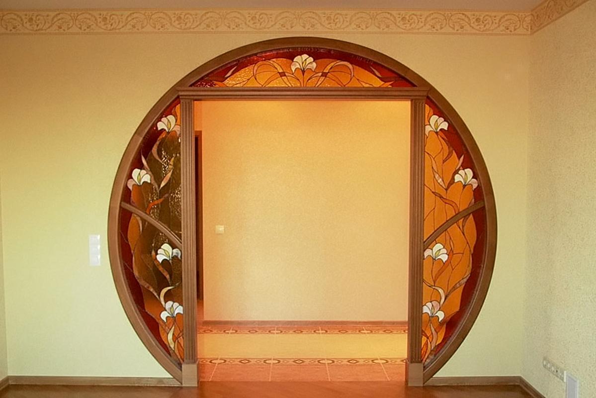 Дверной проем без двери своими руками фото