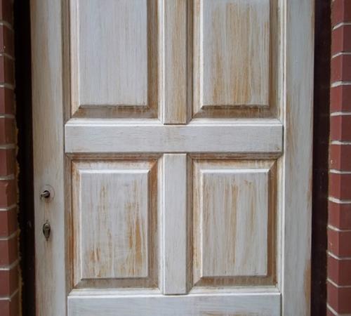 Как облагородить старую дверь своими руками фото 316