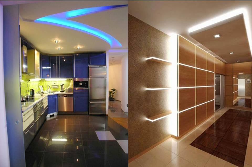 Светодиодная лента для освещения помещения