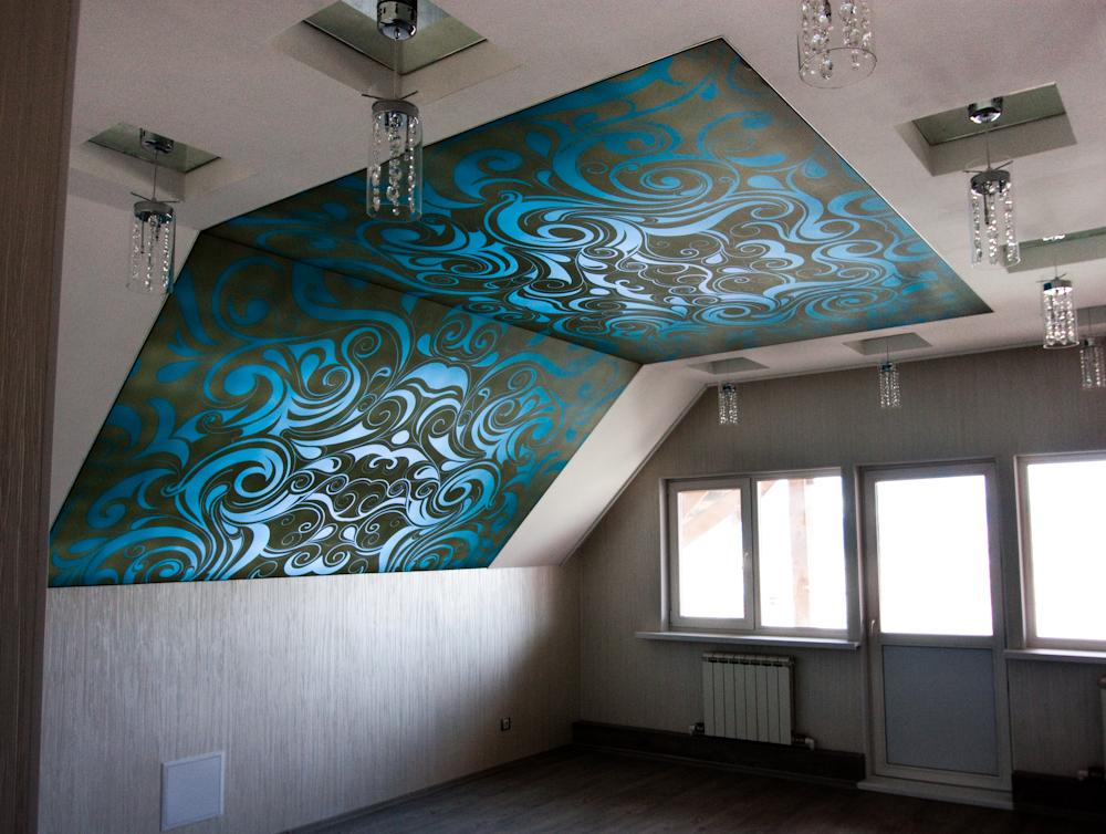 Как сделать сложный потолок 596