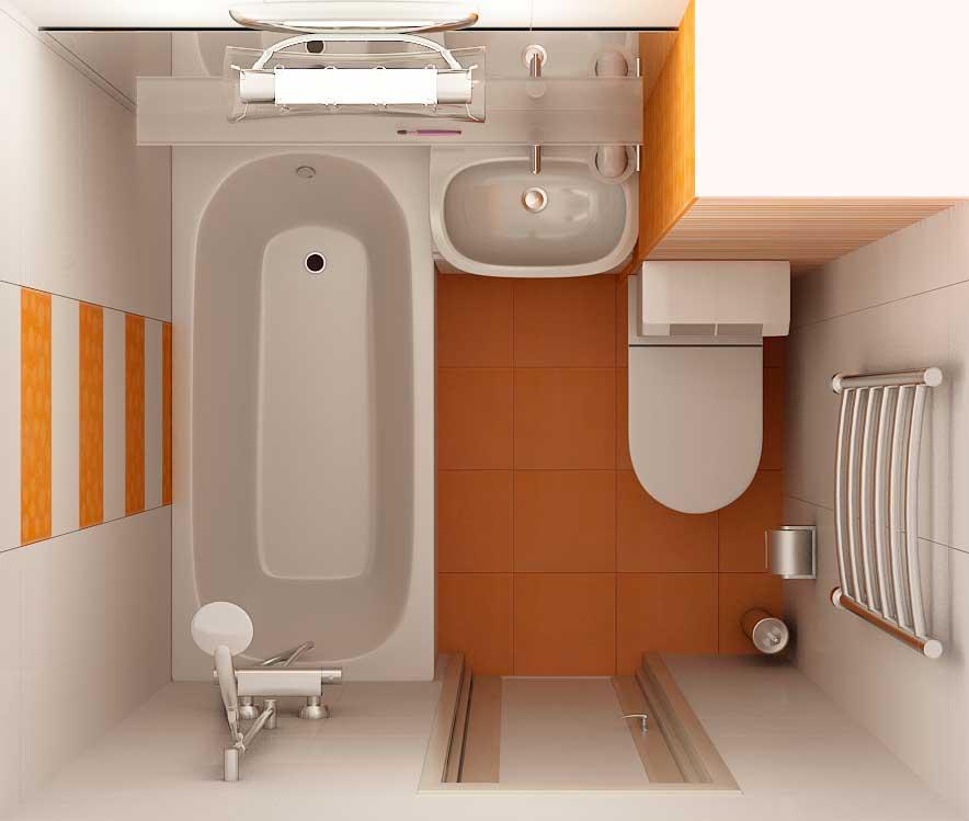 Дизайн совмещенного санузел