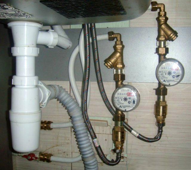 Инструкция установка счётчиков воды