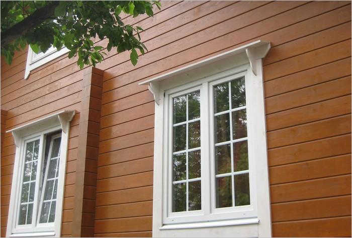 Установка окон пвх в деревянном доме без окосячки 14