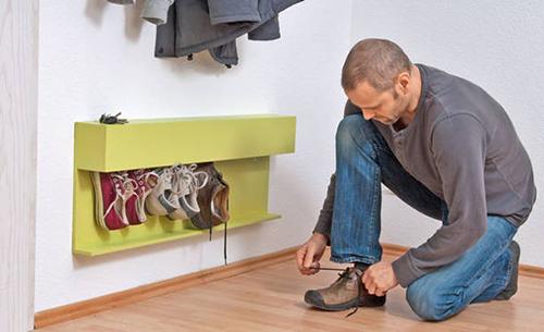Чертежи обувница в прихожую своими руками
