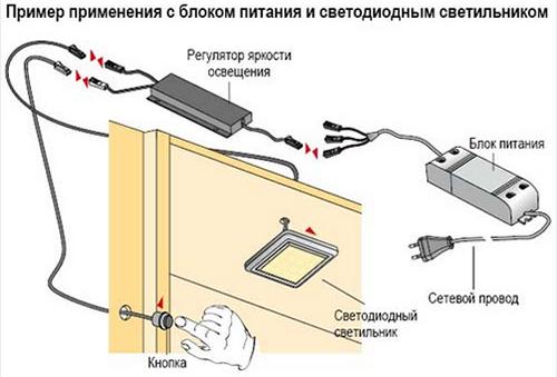 Как сделать выключатель для подсветки на кухне