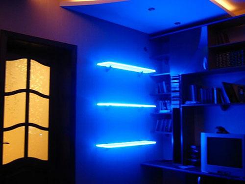 Как сделать подсветку для квартиры